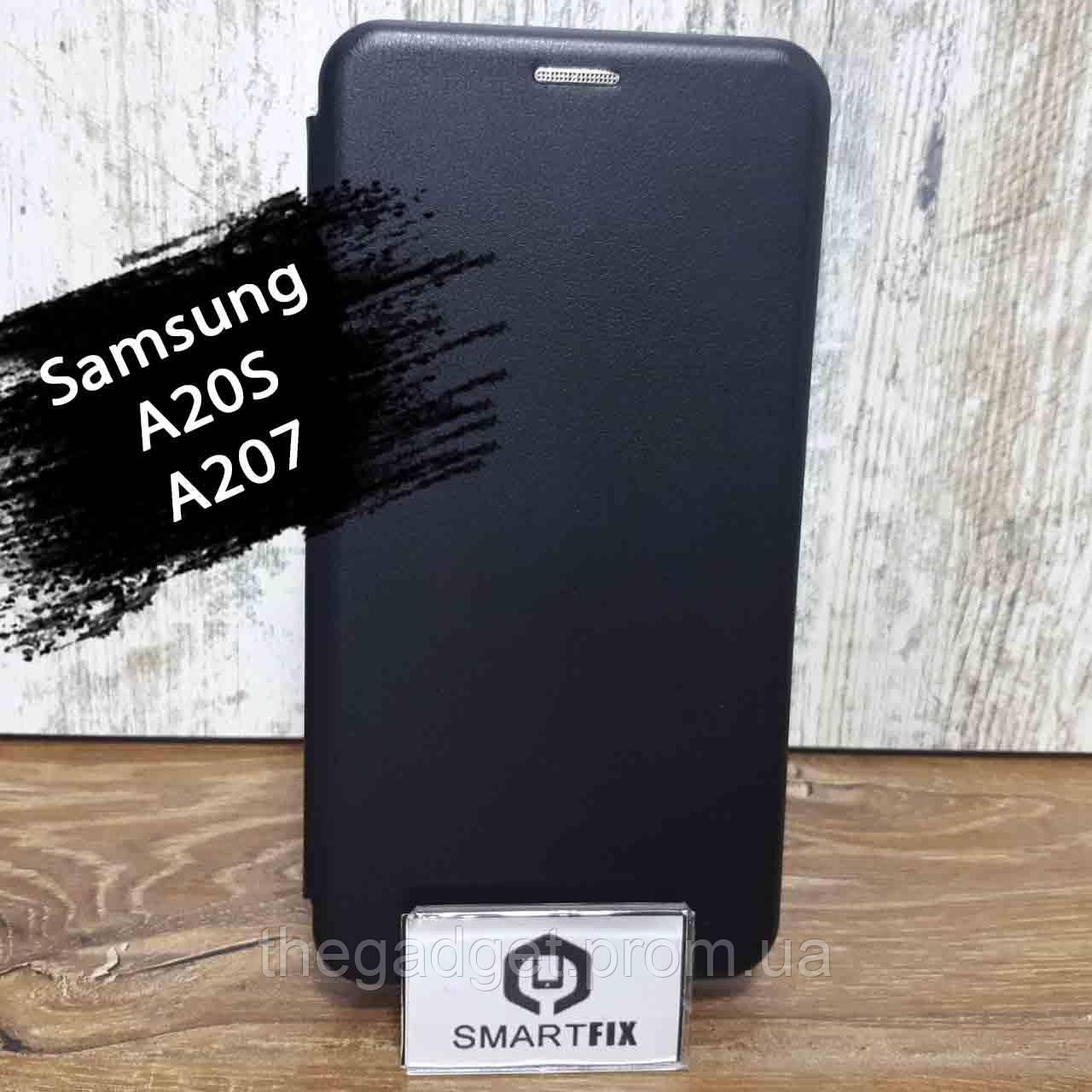 Чехол книжка для Samsung A20S / A207 G-Case