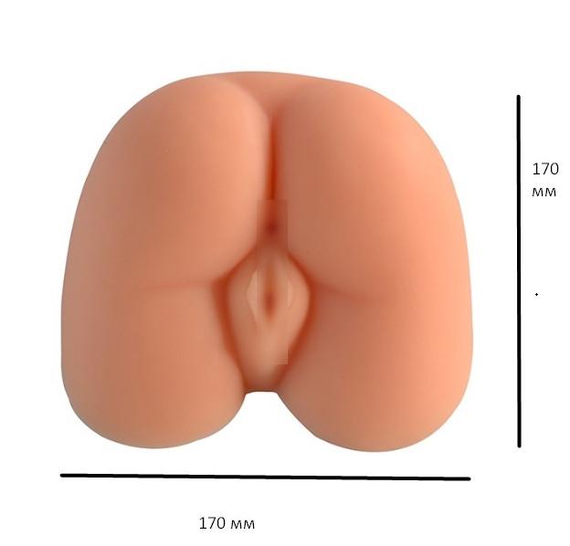 "МАСТУРБАТОР  вагина и анус  ""Rebecca Sex Ass"""