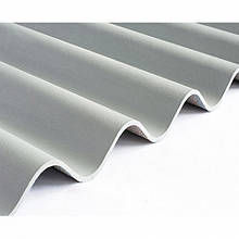 Шифер 8-ми волновой Краматорск серый 1,13м*1,75м *5,8мм