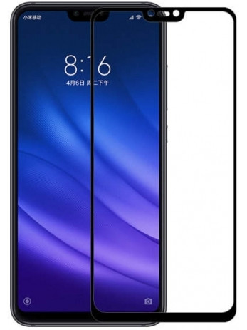 Защитное стекло для Xiaomi Mi 8 Lite (Черный)