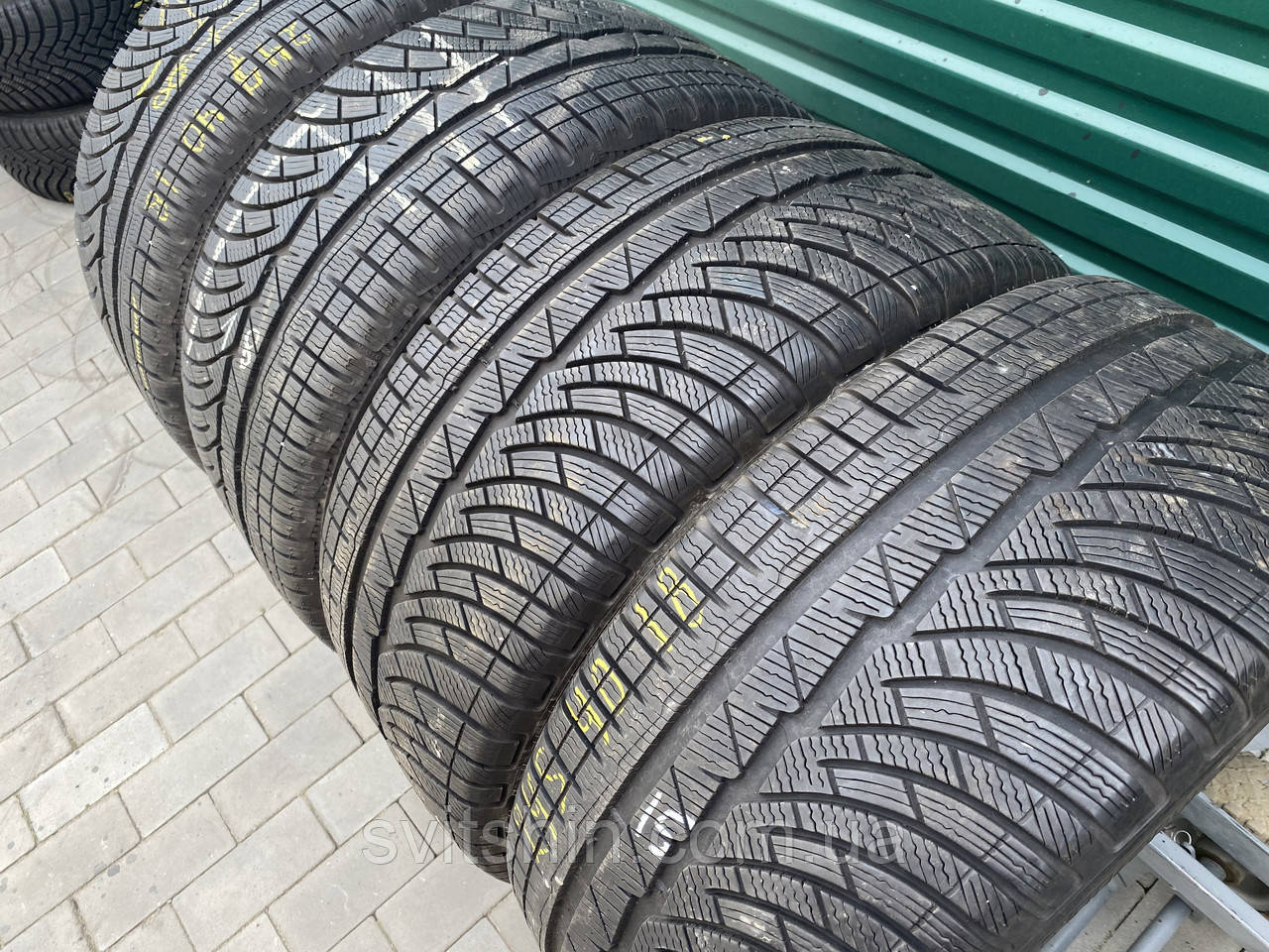 Зимові шини 245/40R18 Michelin Pilot Alpin A4 (7мм) 4шт