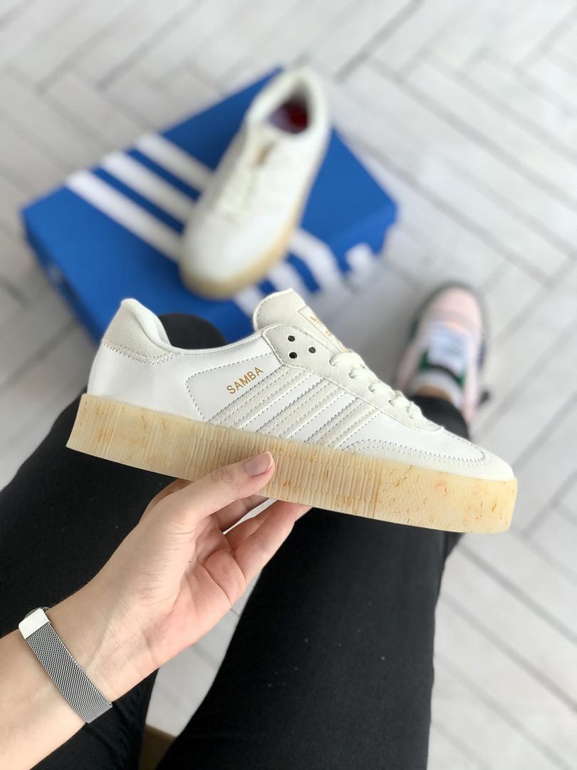 "Кроссовки Adidas Samba ""Бежевые"""