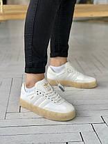 """Кроссовки Adidas Samba """"Бежевые"""", фото 3"""