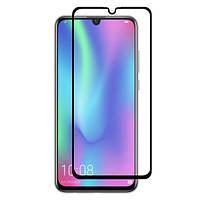 Защитное стекло HUAWEI P Smart 2019/Honor 10 Lite (0.3 мм, 4D ARC Люкс) черное, хуавей п смарт/хонор 10 лайт
