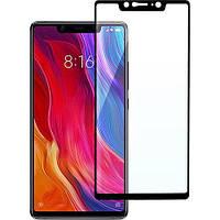 Защитное стекло Xiaomi Mi 8 SE (0.3 мм, 2.5D, клей по всей поверхности) черное, сяоми ксиоми ми 8 се
