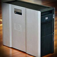 Сервер, Workstation, HP z800, 2х Intel Xeon X5550, 16 потоков по 2,66 GHz, 8 Гб ОЗУ, HDD 0 Гб, видео 256 Мб, фото 1
