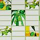 Листовая панель ПВХ на стену Регул, Плитка (Оливка), фото 7