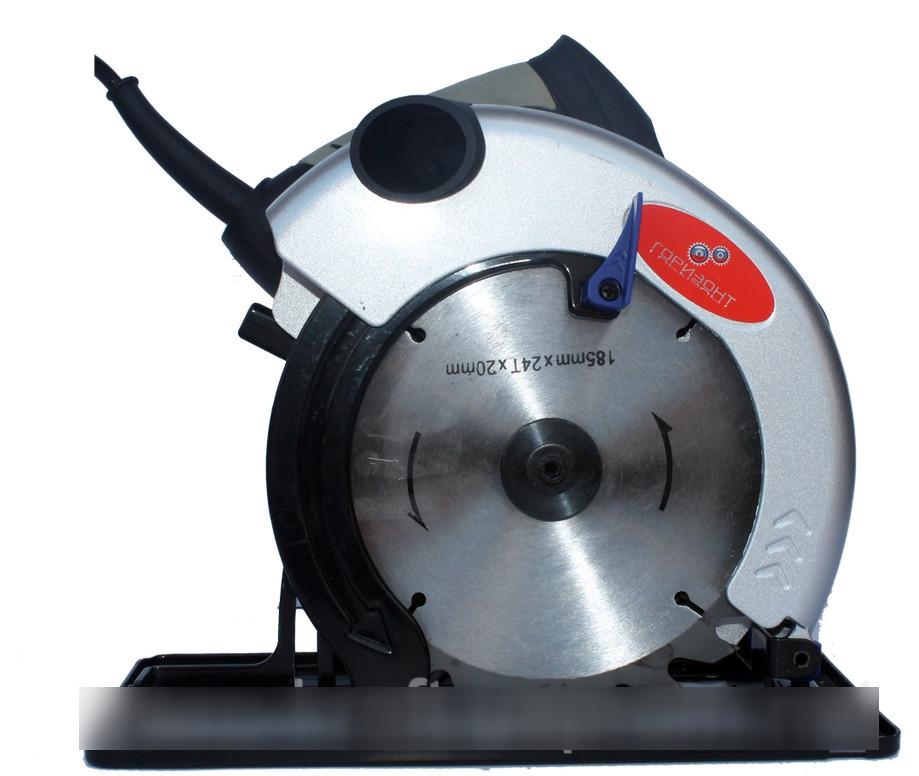 Дисковая пила Горизонт CS 215 : 1850 Вт - 185 мм круг    Гарантия 1 год