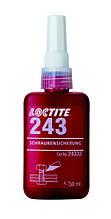 Жидкий фиксатор резьбы Loctite 243, до М36, до 150 °C, 50 мл