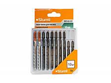 Набор пилок для электролобзика (10шт) Sturm 9019-03-SS1