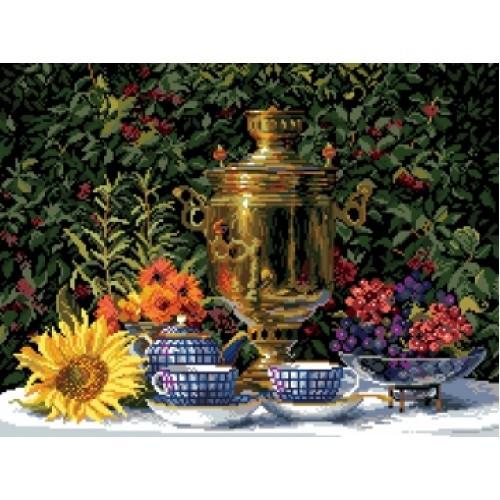 Наборы для вышивания крестом Матренин Посад Натюрморт Приготовления к чаю