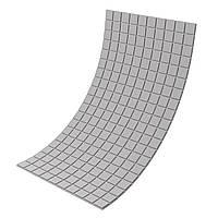 Панель з акустичного поролону Ecosound Tetras Gray 100x200 см, 20 мм, сірий, фото 1