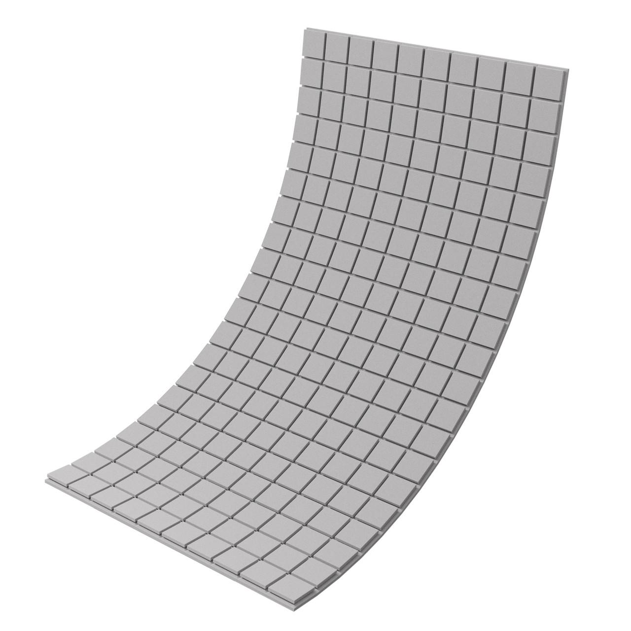 Панель из акустического поролона Ecosound Tetras Gray 100x200 см, 30 мм, серый