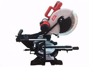 Пила торцювальна торцювання LEX LXCM305 - 305 мм диск   Лазерний покажчик   Ремінна передача