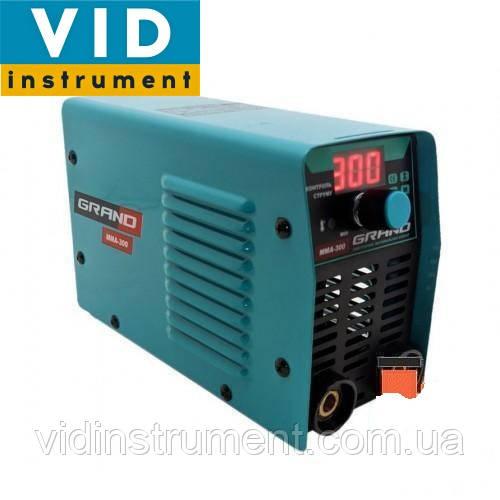 Зварювальний інвертор Grand ММА-300 (дисплей)