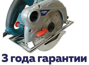 Циркулярна пила Зеніт ЗПЦ-1950 M / 1950 Вт, 185 диск