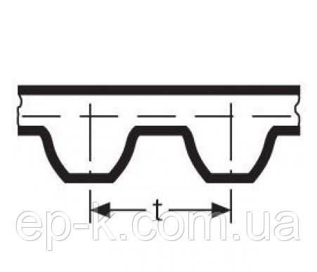 Ремень модульный зубчатый СБ 5-112-20, фото 2