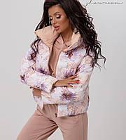 Женская двусторонняя куртка,женская демисезонная куртка