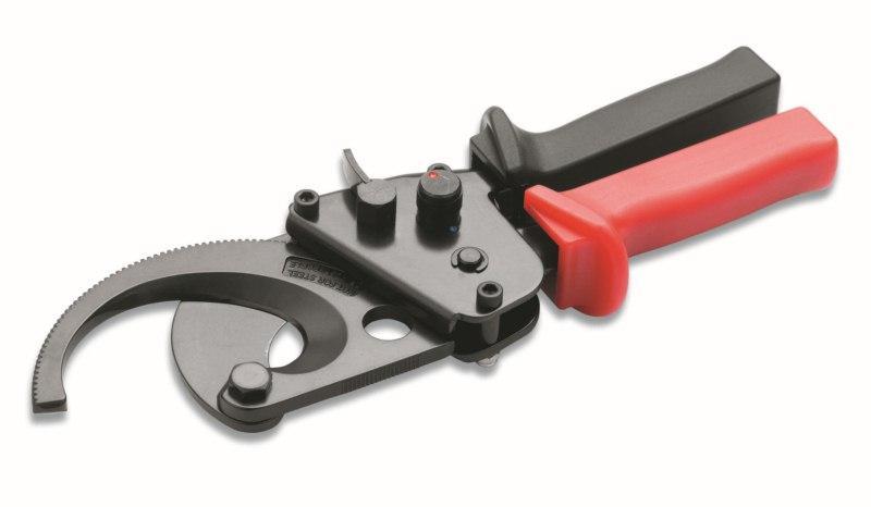 Эксцентриковый трещеточный кабелерез до 45 мм