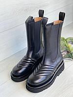 BOTTEGA VENETA Кожаные ботинки  (реплика)