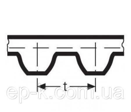 Ремень модульный зубчатый СБ 7-75-80