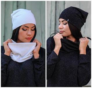 Женские шапки, шарфы