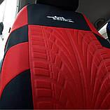 Повний комплект Накидки на сидіння авто чохли універсальні Автонакидки на сидіння в салон машини авто-майки, фото 2