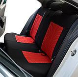 Повний комплект Накидки на сидіння авто чохли універсальні Автонакидки на сидіння в салон машини авто-майки, фото 6