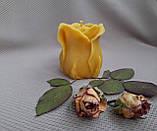 """Свеча восковая из натурального пчелиного воска """"Роза"""" Zigrivay (6х5см) (10035), фото 2"""