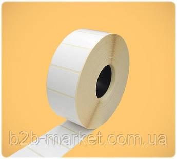 Термоетикетка 40*25 мм (2000 етикеток) / (вт25)