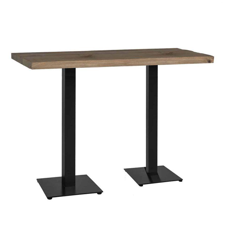 Стол для бара ресторана из массива дерева от производителя