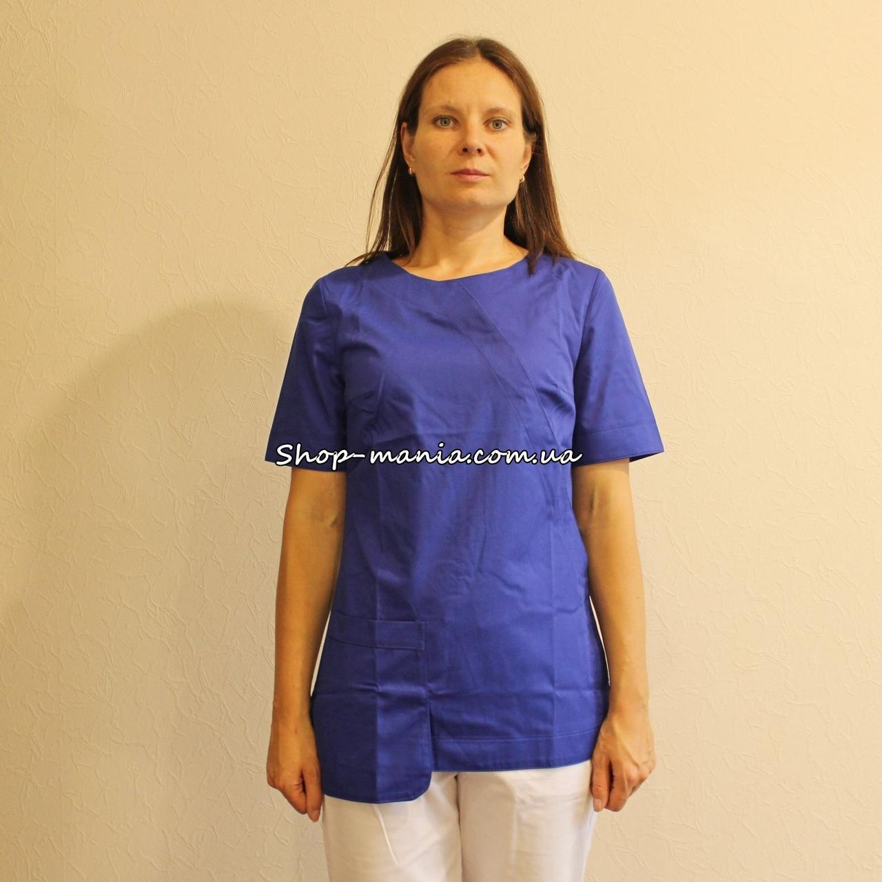 Женская медицинская куртка SM 1017-5 Viola 42-56p (электрик)