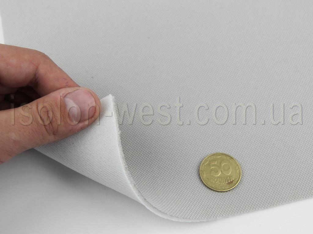 Ткань авто потолочная светло-серая (текстура сетка) Lacosta 66, на поролоне 3 мм с сеткой шир. 1.70м (Турция)