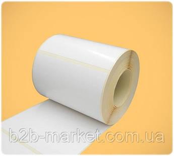 Термоетикетка 101*101.5 мм (500 етикеток) для Нової пошти / 100*100 мм