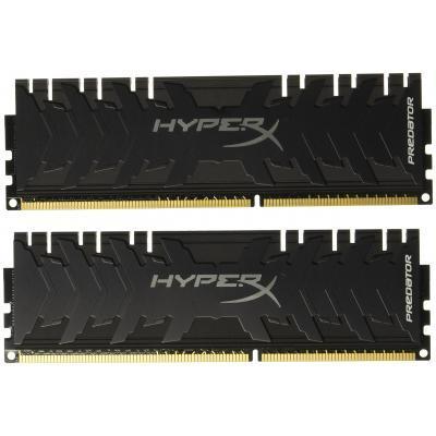 Модуль памяти для компьютера DDR4 64GB (2x32GB) 3200 MHz HyperX Predator Black Kingston (HX432C16PB3K2/64)