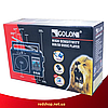 Радіоприймач GOLON RX-006UAR - Великий портативний радіоприймач - колонка MP3 з USB і акумулятором Червоний, фото 5