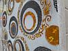 Мягкое стекло Скатерть с лазерным рисунком для мебели Soft Glass 3.0х0.8м толщина 1.5мм Круги на белом фоне, фото 5