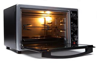 Электродуховка Camry CR 6018 объем 35 литров с конвекцией , грилем и подсветкой, фото 3
