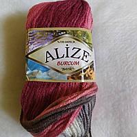 Alize Burcum Batik, цвет-красный, серый ,белый