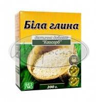 Каосорб (белая глина + шрот зародышей пшеницы) 200г каолин