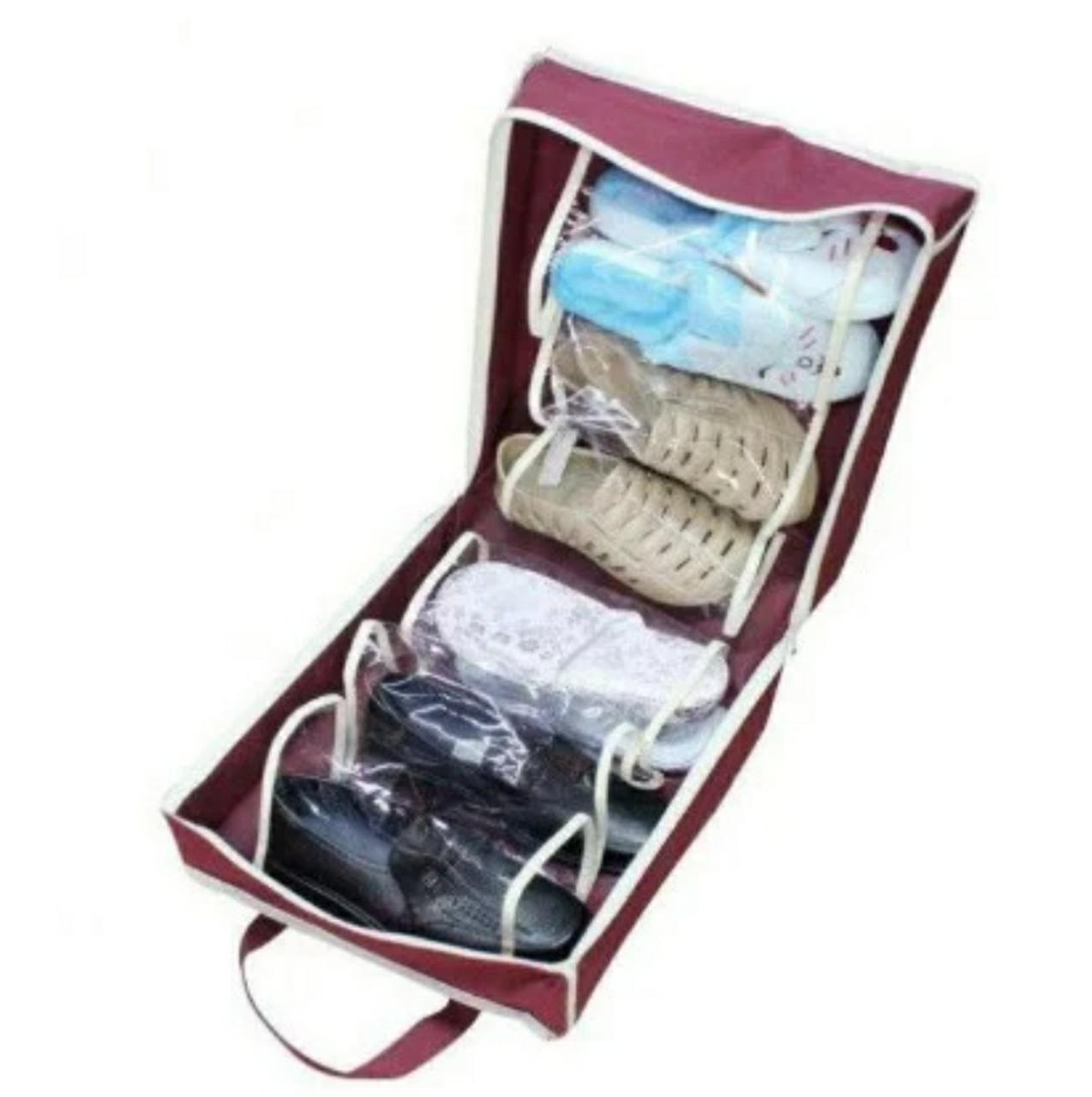 Сумка органайзер для обуви Shoe Tote на 6 пар