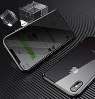 Magnetic case Full Glass 360 (магнитный чехол) ANTI SPY Анти-шпион для iPhone 11
