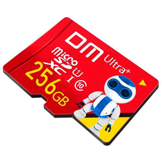 Карта памяти 256 Гб microSDXC – флешка микро СД 256GB Class 10 (micro SD) USH-1 DM Ultra+