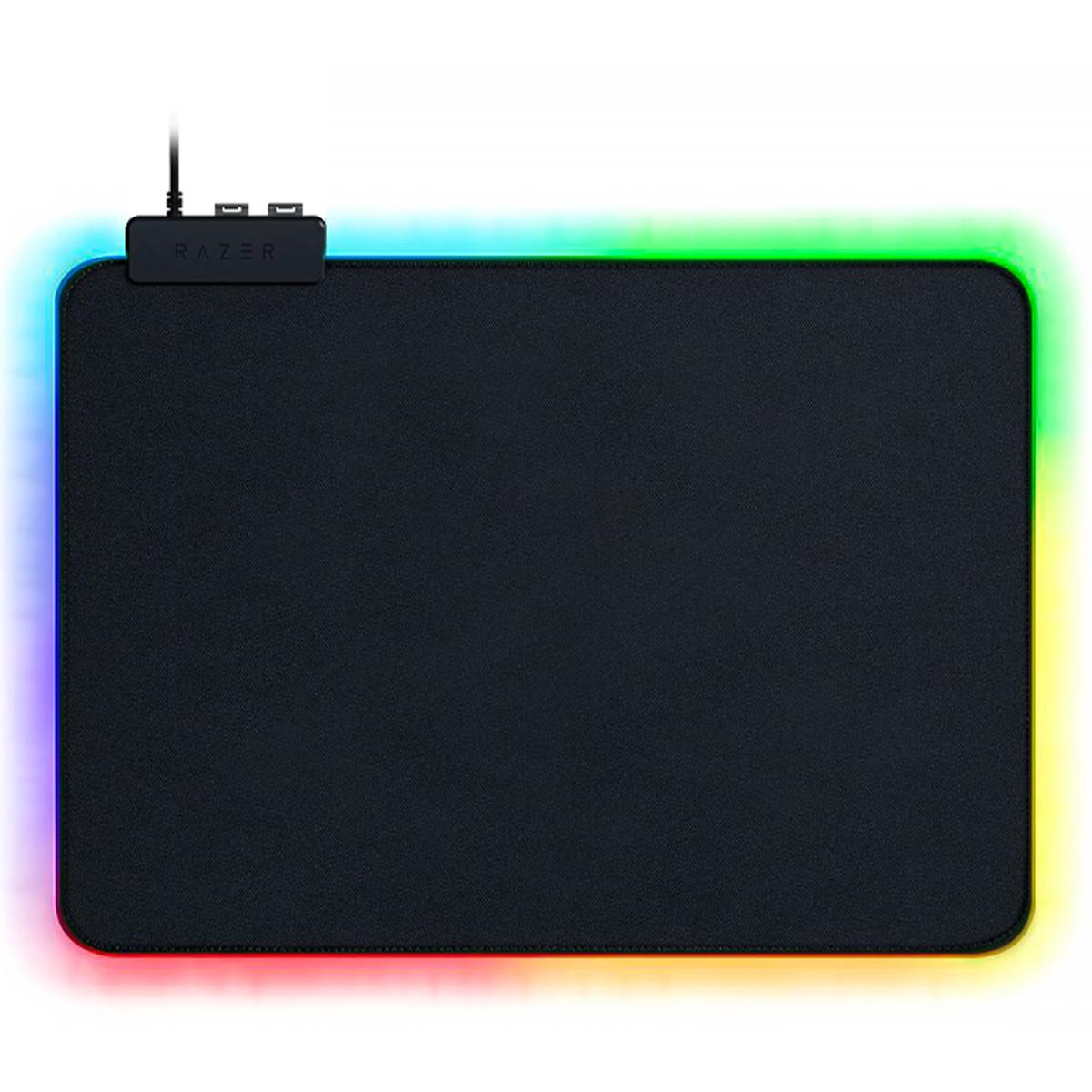 Игровой коврик для мыши Razer Goliathus CHROMA 355х255х3 с RGB подсветкой