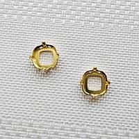 Оправа для квадрата 18 мм, Германия, цвет золото