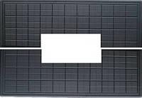 Форма из АБС пластика для плиты противоусадочной под памятник №4. Размеры 1950х650х50мм, вырез 790х170мм