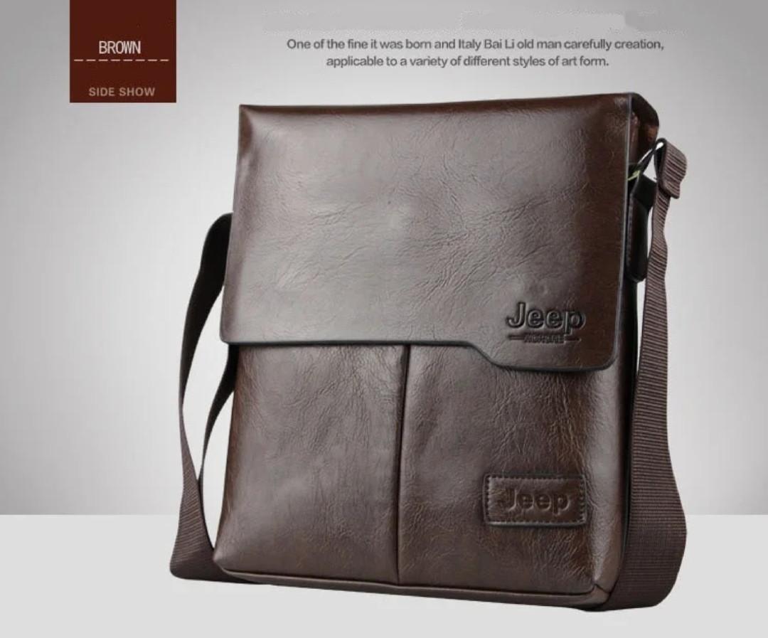 Стильная  сумка барсетка через плечо JEEP