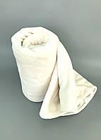 Плед покрывало фланель (микрофибра) 200*230см Молочный