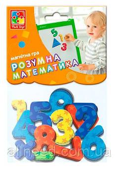 "Магнитная игра ""Цифры и математические знаки"" VT5900-01 (укр)"