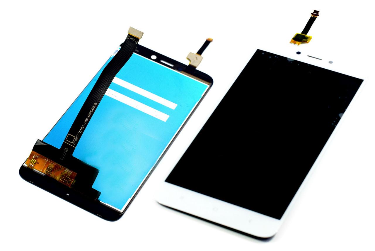 Дисплей для Xiaomi Redmi 4X белый, с тачскрином China Original
